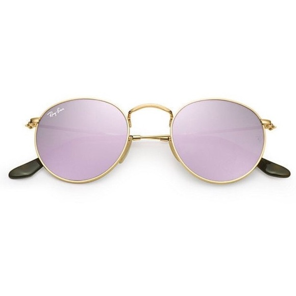 136e1ce56ed 🔥HOT🔥 Ray-Ban Violet Round Metal 3447